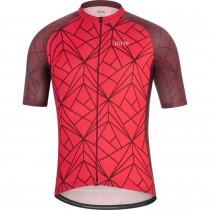 Gore C3 maillot de cyclisme manches courtes rouge (100452)