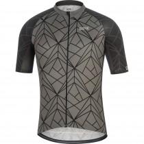 Gore C3 maillot de cyclisme manches courtes graphite gris noir (100452)