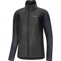 Gore C5 gore-tex infinium soft lined thermo veste de cyclisme femme noir