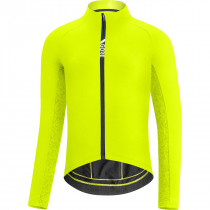Gore C5 Thermo Jersey - Neon Yellow/Citrus Green