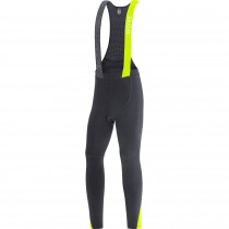 Gore C5 Thermo Bib Tights+ - black/neon yellow