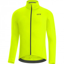 Gore C3 Thermo Jersey - Neon Yellow