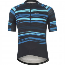 Gore Wear Savana Jersey Mens - Black/Scuba Blue