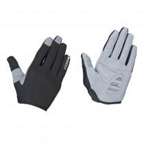 GripGrab shark padded full finger gants de cyclisme femme noir