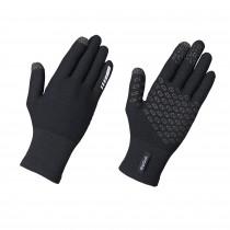 GripGrab primavera merino II gants de cyclisme noir