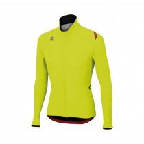 Sportful fiandre light wind veste de cyclisme fluo jaune