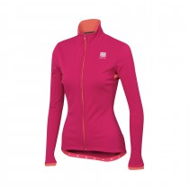 Sportful luna softshell veste de cyclisme femme love potion rose