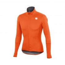 Sportful fiandre light norain top maillot de cyclisme manches longues orange sdr
