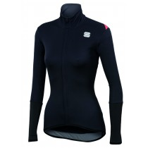 Sportful fiandre light norain w top maillot de cyclisme manches longues femme noir