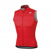 Sportful bodyfit pro ws gilet coupe-vent rouge noir anthracite