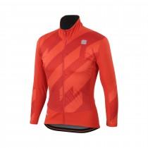Sportful attitude veste de cyclisme fire rouge