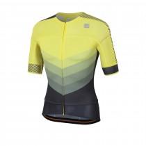 Sportful bodyfit pro 2.0 evo maillot de cyclisme manches courtes tweety jaune noir