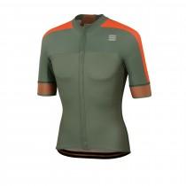 Sportful bodyfit pro 2.0 classics maillot de cyclisme manches courtes dry vert orange sdr