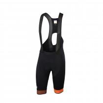 Sportful bodyfit pro 2.0 ltd cuissard de cyclisme courtes à bretelles noir orange sdr