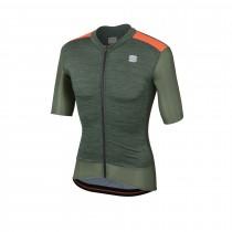 Sportful supergiara maillot de cyclisme manches courtes dry vert