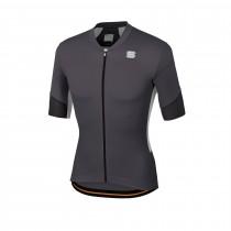 Sportful gts maillot de cyclisme manches courtes anthracite noir blanc