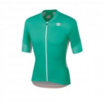 Sportful gts maillot de cyclisme manches courtes bora vert miami vert blanc