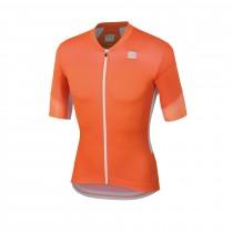 Sportful gts maillot de cyclisme manches courtes orange sdr orange clair blanc