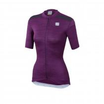 Sportful giara maillot de cyclisme manches courtes femme victorian violet