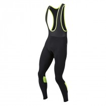 Pearl izumi pursuit thermal cuissard long à bretelles noir screaming jaune