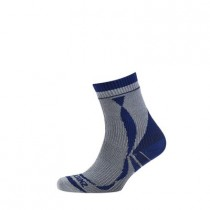 SEALSKINZ Thin Ankle Length Sock Grey (1111402_040)