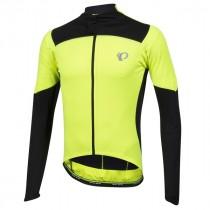 Pearl Izumi p.r.o. pursuit maillot de cyclisme manches longues fluo jaune noir