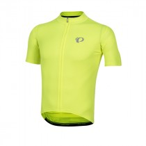 Pearl Izumi select pursuit maillot de cyclisme manches courtes screaming jaune