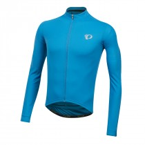 Pearl Izumi select pursuit maillot de cyclisme manches longues atomic bleu mid navy diffuse