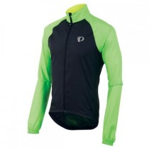 PEARL IZUMI Elite Barrier Jacket Black Green (11131514_4TG)
