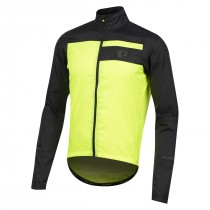 Pearl Izumi elite escape barrier veste coupe-vent noir screaming jaune