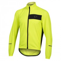 Pearl Izumi select barrier veste coupe-vent screaming jaune noir