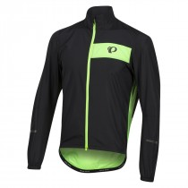Pearl Izumi select barrier veste coupe-vent noir screaming vert