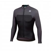 Sportful bodyfit pro thermal maillot de cyclisme à manches longues noir anthracite