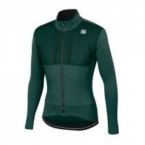 Sportful supergiara veste de cyclisme sea moss dry vert