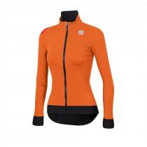 Sportful fiandre pro veste de cyclisme femme orange sdr