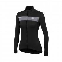 Sportful neo softshell veste de cyclisme femme noir