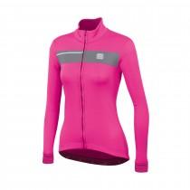 Sportful neo softshell veste de cyclisme femme bubble gum rose