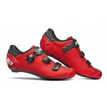 Sidi ergo 5 matt chaussures route noir rouge mat