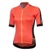 Pearl Izumi elite pursuit speed maillot de cyclisme manches courtes femme coral