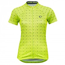 Pearl Izumi Dames Shirt Select Graphic S Yellow/Turb. Deco