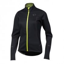 Pearl izumi select escape softshell veste de cyclisme femme noir jaune