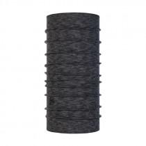 Buff Midweight Merino Wool Nekwarmer Graphite Multi Stripes