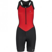 Assos uma gt body suit sans manches femme national rouge