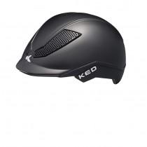 KED pina casquette de cyclisme enfants noir mat