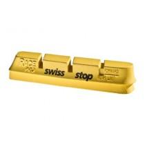 SWISSSTOP Rim Brake Pad Campa Race Pro Yellow King (2 Pair)