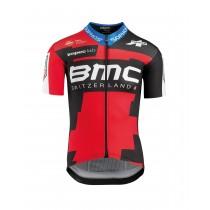 Assos BMC proteam maillot de cyclisme manches courtes rouge noir 2018