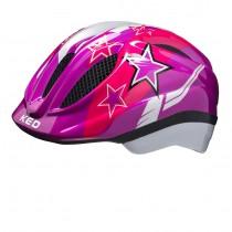 KED meggy casquette de cyclisme enfants violet stars