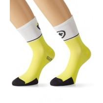 ASSOS Exploit Evo 7 Sock Volt Yellow