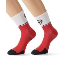 ASSOS Exploit Evo 7 Sock National Red