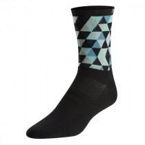 Pearl Izumi elite tall chaussettes de cyclisme femme teal triads noir bleu